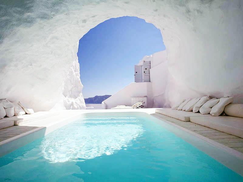 Katikies Hotel, Yunanistan