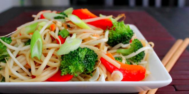 Sebzeli Noodle Nasıl Yapılır?