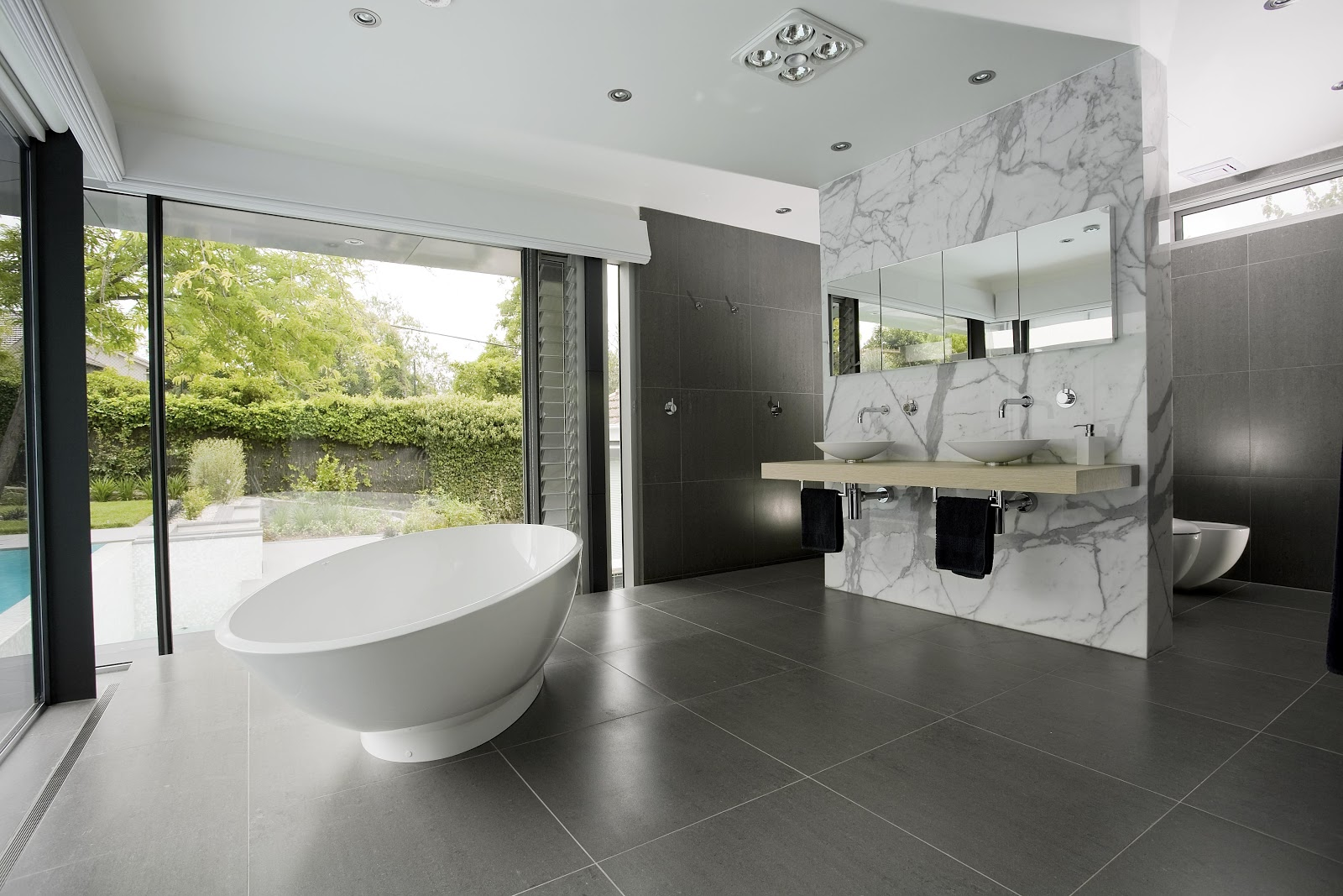 Modern bath rooms pictures