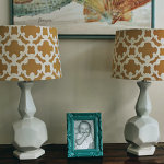 yellow-drum-lamp-shade
